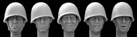 Hornet Heads HWH01 - Heads with Polish Infantry Helmets 1939