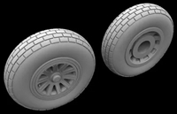 Hussar HSR-32002 - P-51 Mustang Block Tread Wheels