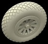Hussar HSR-32004 - P-51 Mustang Diamond Tread A wheels