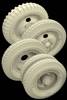 Hussar HSR-35030 - ZIS-5, ZIS-6, ZIS-42 Russian Truck Wheels with Spare