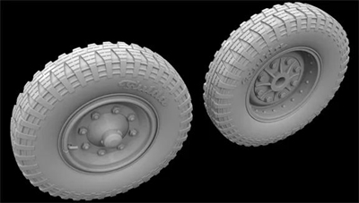 Hussar HSR-35033 - Sd.Kfz. 251 Front Wheels