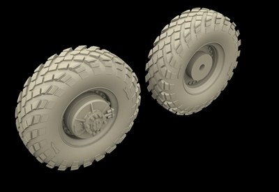 Hussar HSR-35035 - BRDM Wheels - Russian Type