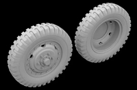 Hussar HSR-35054 - M2/M3 Half Track Front Wheels (three types)