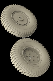 Hussar HSR-35059 - Humber Non-Directional Type Wheels