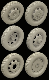 Hussar HSR-35067 - Opel Blitz Late Wheels