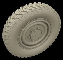 Hussar HSR-35077 - Sd.Kfz. 221 Type B Wheels