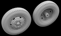 Hussar HSR-35083 - M2A 105mm Howitzer Wheels (2 types)