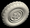 Hussar HSR-35088 - Sd.Kfz. 222 Wheels Type 2