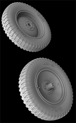 Hussar HSR-35124 - Sd.Kfz. 250 Front Wheels