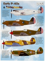 Iliad Design 48014 - Early P-40s & Tomahawks