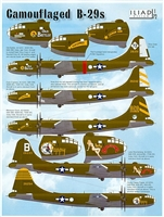 Iliad Design 72003 - Camouflaged B-29s