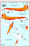 Leading Edge 48.8 - CP Air DC3 / C-47 Orange Scheme