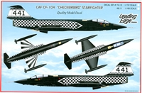 "Leading Edge 48.11 - CAF CF-104 ""Checkerbird"" Starfighter"