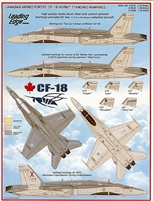 Leading Edge 48.24 - Canadian Armed Forces CF-18 Hornet Standard Markings