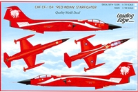 "Leading Edge 48.26 - CAF CF-104 ""Red Indian"" Starfighter"