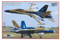 Leading Edge 48.69 - CAF CF-18 100 Years of Flight