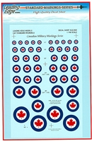 Leading Edge LEM-LE002 - CAF Standard Roundels, Canadian Military Markings Series