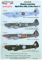 Lifelike Decals 32-010 - Supermarine Spitfire Mk. XVIe, part 1