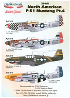 Lifelike Decals 32-021 - North American P-51 Mustang, Part 4