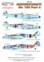 Lifelike Decals 48-018 - Messerschmitt Me 109, Part 4