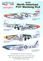 Lifelike Decals 48-023 - North American P-51 Mustang, Part 2
