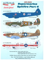 Lifelike Decals 48-026 - Supermarine Spitfire, Part 4