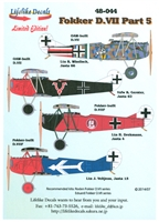 Lifelike Decals 48-044 - Fokker D.VIII, Part 5