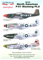 Lifelike Decals 48-047 - North American P-51 Mustang, Part 3