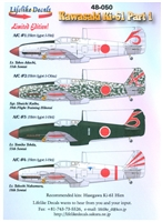 Lifelike Decals 48-050 - Kawasaki Ki-61, Part 1