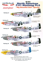 Lifelike Decals 48-051 - North American P-51 Mustang, Part 5