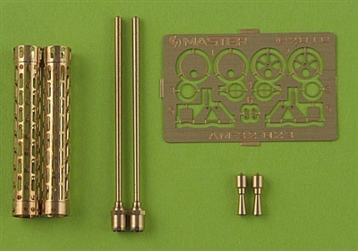 Master AM32023 - German WW I Machine Gun Spandau LMG 08/15 (2 pcs)