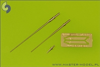 Master AM32056 - SAAB JAS 39 Gripen Pitot Tubes & Angle of Attack Probes