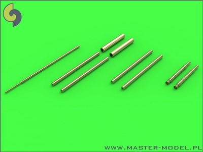 Master AM32065 - Fw 190 A7 - A9 Armament Set (MG 131 barrel tips, MG 151 barrels, MG 151 fairings) & Pitot Tube