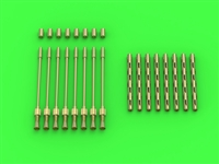 Master AM-32-113 - Avro Lancaster - set of 8 British Brownings .303 cal (for HK Models)