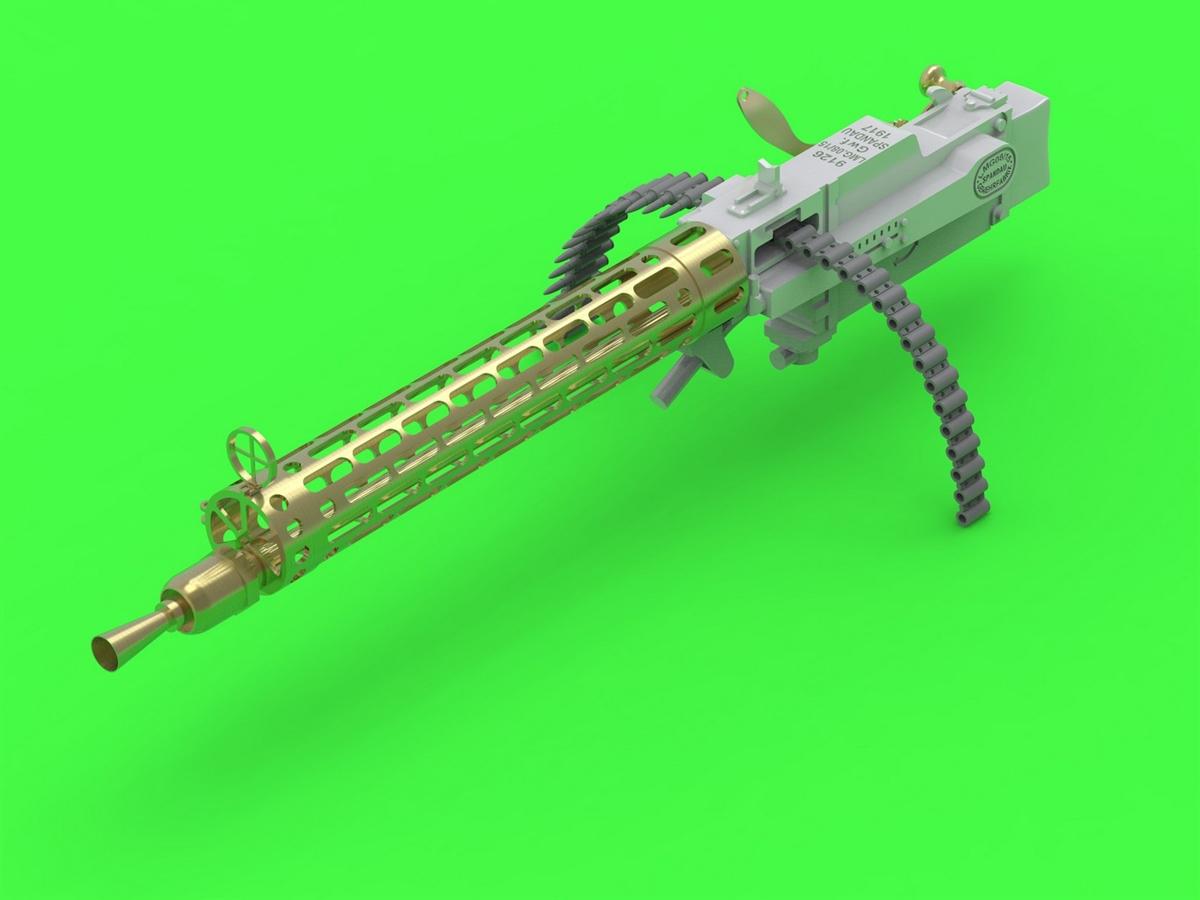 2pcs AM32027 Master Model 1//32 German autocannon MG FF