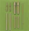 Master AM48018 - Fw 190 A6 Armament Set (MG 17 barrel tips, MG 151 barrels, MG 151 fairings) & Pitot Tube