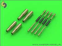 Master AM48085 - Hawker Hurricane Mk IIC Hispano Mk II 20mm Cannons (with round recoil springs) (4 pcs)