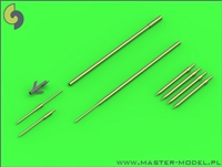 Master AM48120 - Su-9 / Su-11 (Fishpot / Fishpot C) Pitot Tubes & Missile Rails Heads