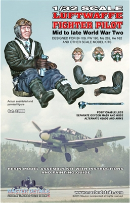 Master Details 32008 - Luftwaffe Fighter Pilot (Mid-Late WW2)