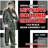 Master Details 32009 - WWII Luftwaffe Ground Crewman
