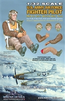 Master Details 32011 - U.S. Army Air Force Fighter Pilot (Mid to Late WW2)