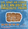 Master Details MD32059 - U.S. Army Air Force Q.A.C. AN-6513-IA Parachute Packs