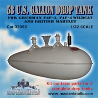 Master Details 32063 - 58 U.S. Gallon Drop Tank