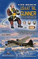 Master Details 32066 - USAAF Tail Gunner, Mid to Late WW2