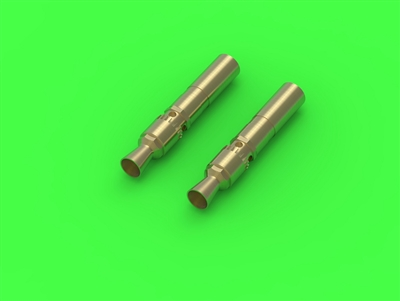 Master GM35028 - MG-34 German Machine Gun Barrel Tips