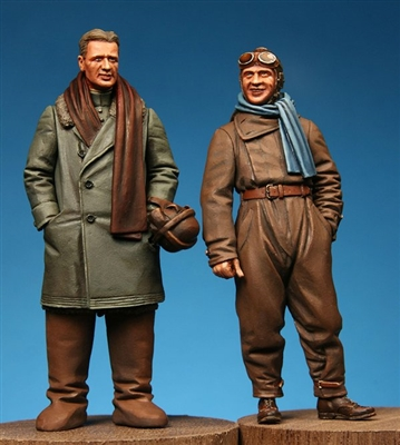 Model Cellar MC32017 - WW1 German 2-Seater Crew #2 Pilot & Observer