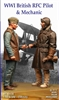 Model Cellar MC32020 - WW1 British RFC Pilot & Mechanic