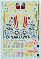 Micro Scale 48-123 - F-14As (A VF-101 Loaned to VF-33 and VF-11)