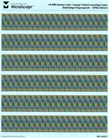 "MicroSculpt MD-48001 - WWI German 5-color ""Lozenge"" Printed Camouflage Fabric"