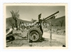 25 Pounder Gun, Greece or possibly North Africa, Original WW2 Photo